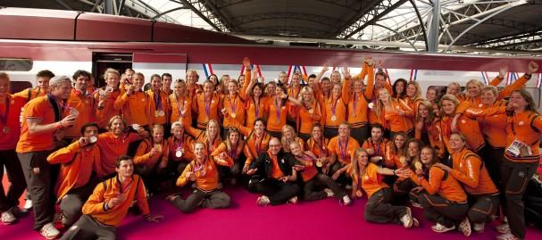 CASE 2 Olympische Trein foto 2